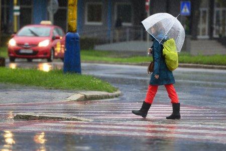 RANNÁ ŠTVORKA: Na Katarínu si pripravte dáždnik, teploty dosiahnu max 10 C°