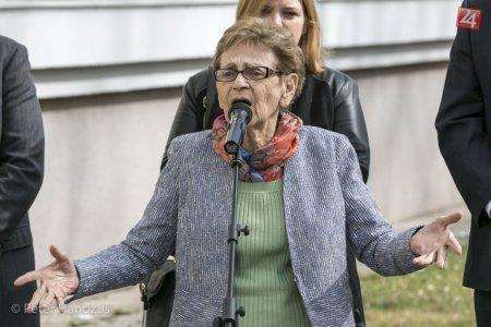 Edita Grosmanová (92): Ostala nažive, aby hovorila o hrôzach holokaustu