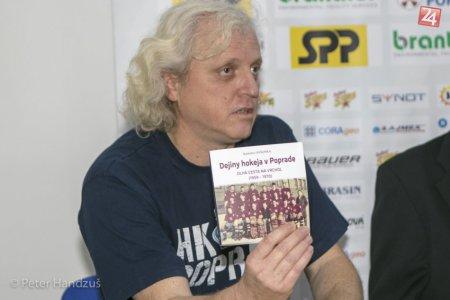 Niečo pre milovníkov faktov: Kniha Dejiny hokeja v Poprade má štvrtý diel