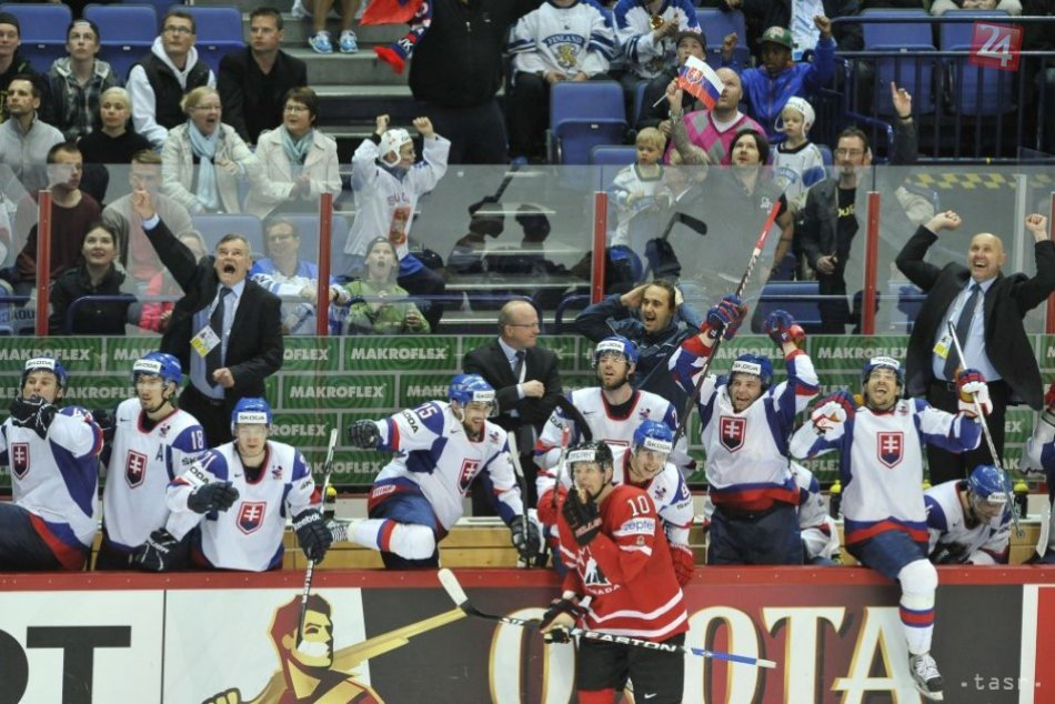 hokej SVK-CAN