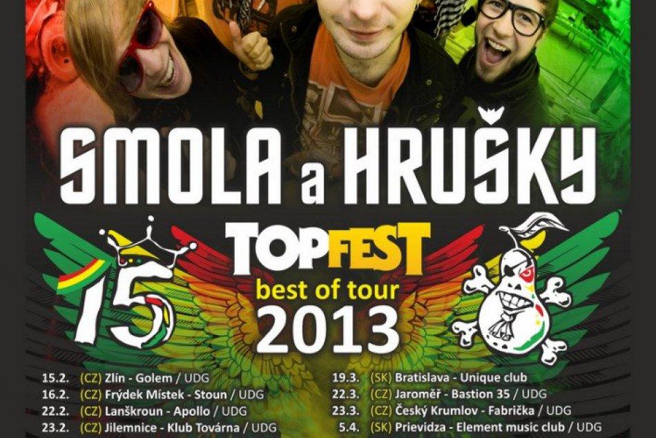 Smola a Hrušky: Plagát k turné 2013