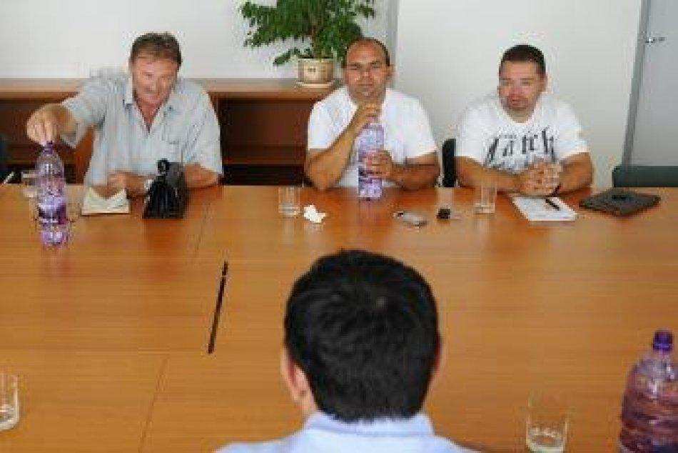 Návšteva splnomocnenca vlády SR pre rómske komunity Peter Pollák v Spišskej