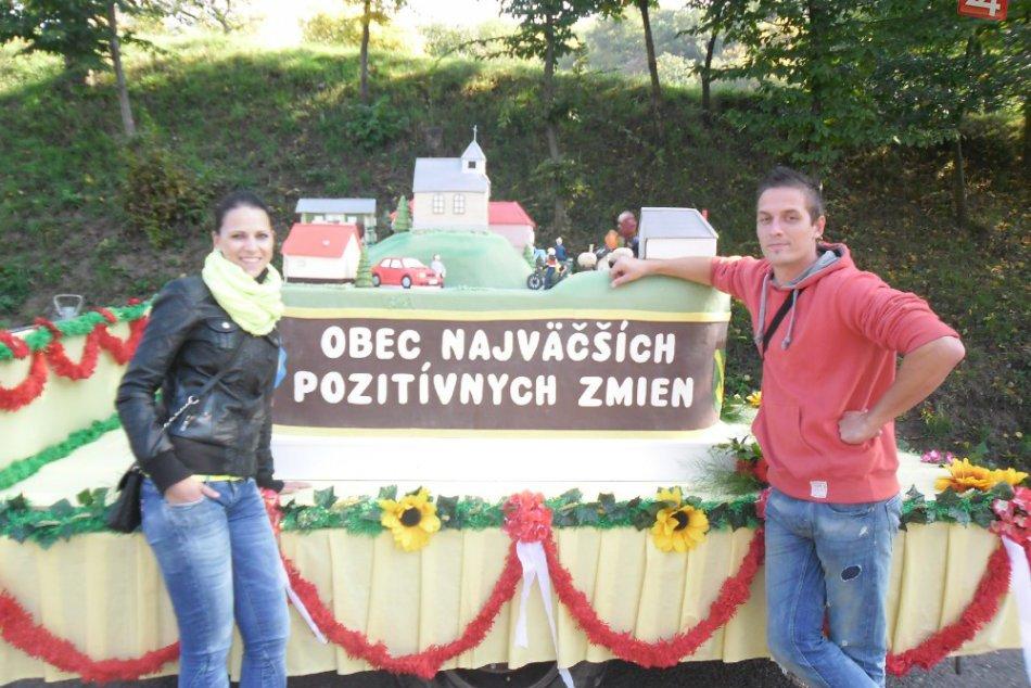 Takúto magatortu dostali Župkovčania v celoslovenskej súťaži