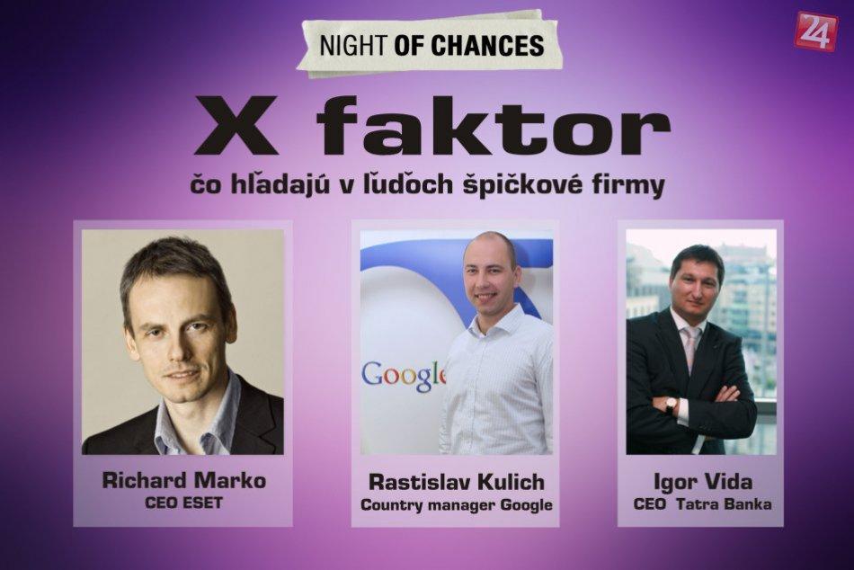 X faktor: Aký faktor hľadajú v ľuďoch špičkové firmy