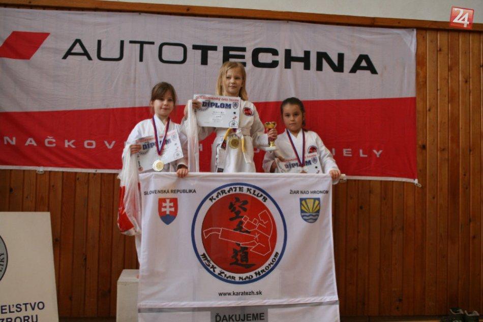 Žiarski karatisti udržali víťazstvo: V medzinárodnom turnaji takto porazili favo
