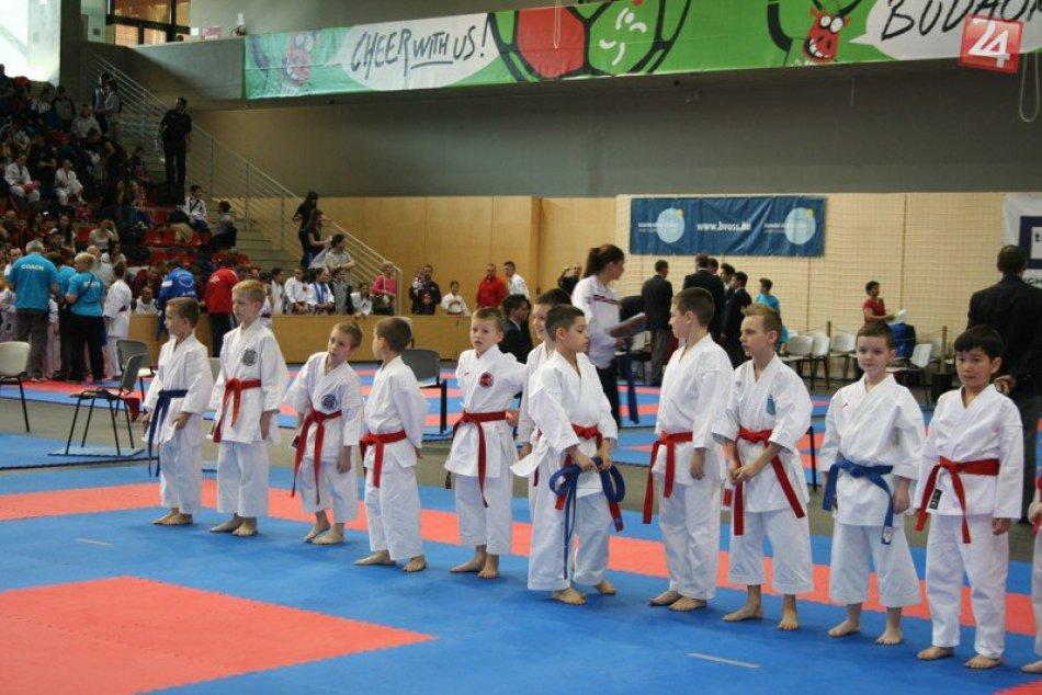Tatami Cup Budapešť: Úspech pre žiarske karate