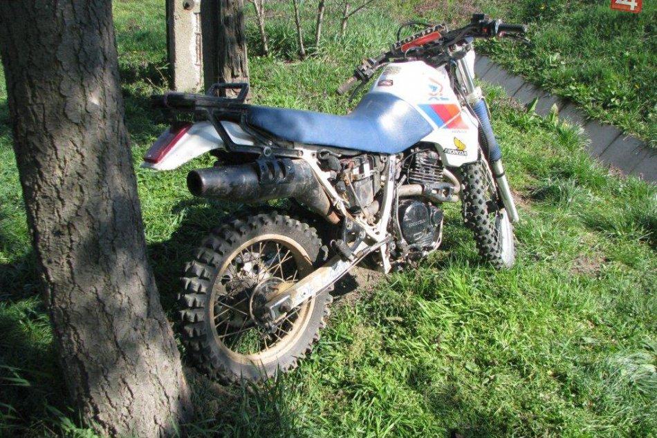 Vážna nehoda na motocykli