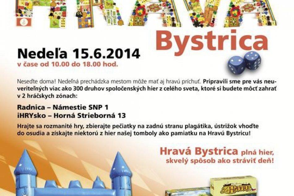 Hravá Banská Bystrica plná spoločenských hier