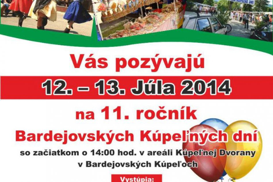 Ťahákmi 11. Bardejovských kúpeľných dní sú Kandráčovci a Koščová