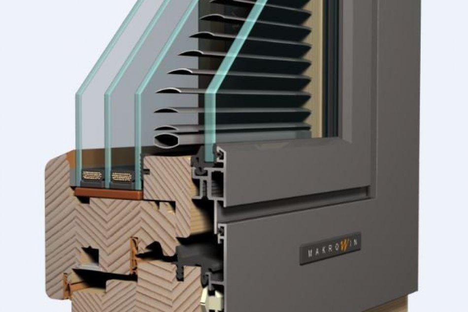 Energeticky úsporné drevené okná z Makrowinu ochránia pred horúčavou aj mrazom