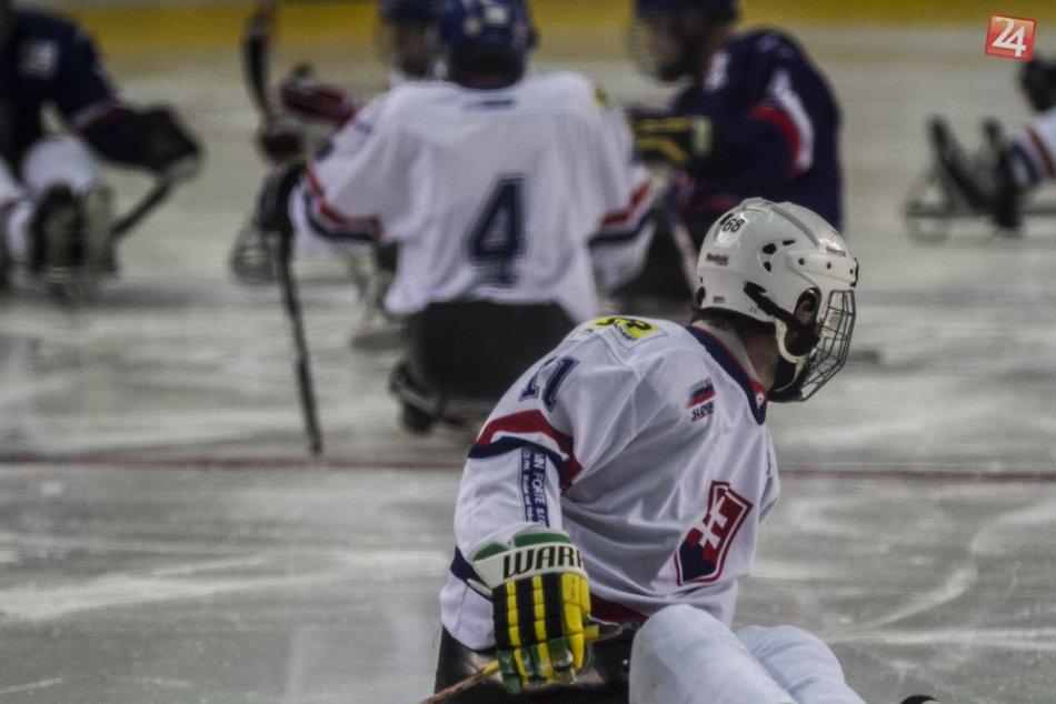 Reprezentácia v sánkovom hokeji v Poprade