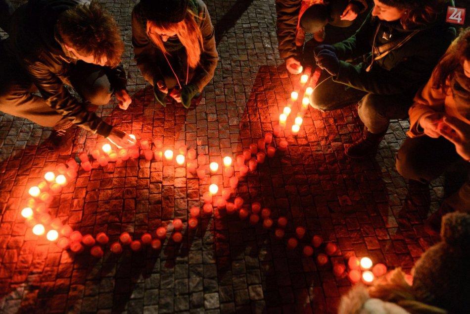 Sviečkový pochod ulicami Nitry