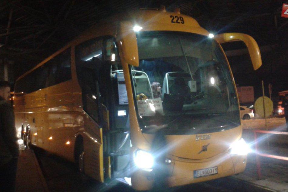 autobusy RegioJetu