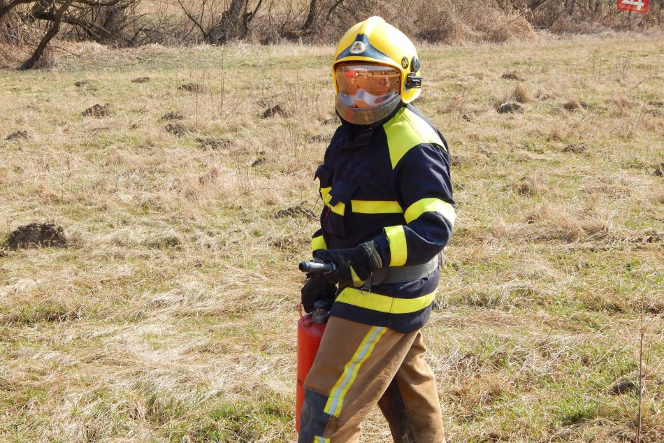 Taktické cvičenie dobrovoľných hasičov z Jelšavy
