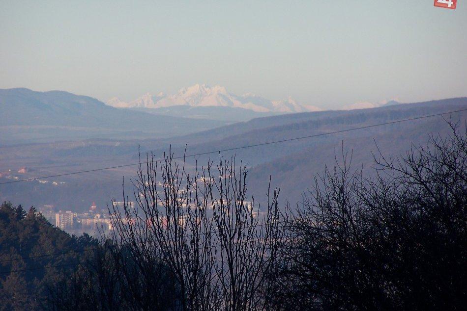 Humenné - Tatry: Takmer 140 kilometrov vzdušnou čiarou
