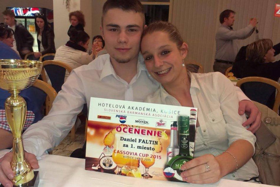 Víťaz celoslovenskej barmanskej súťaže po trojtýždňovom tréningu