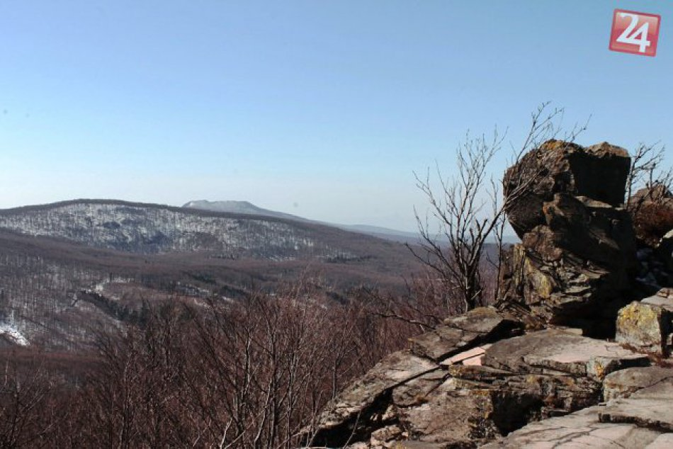 Turistom učarovali Vihorlatské vrchy a vyše 1 000 metrová hrebeňovka
