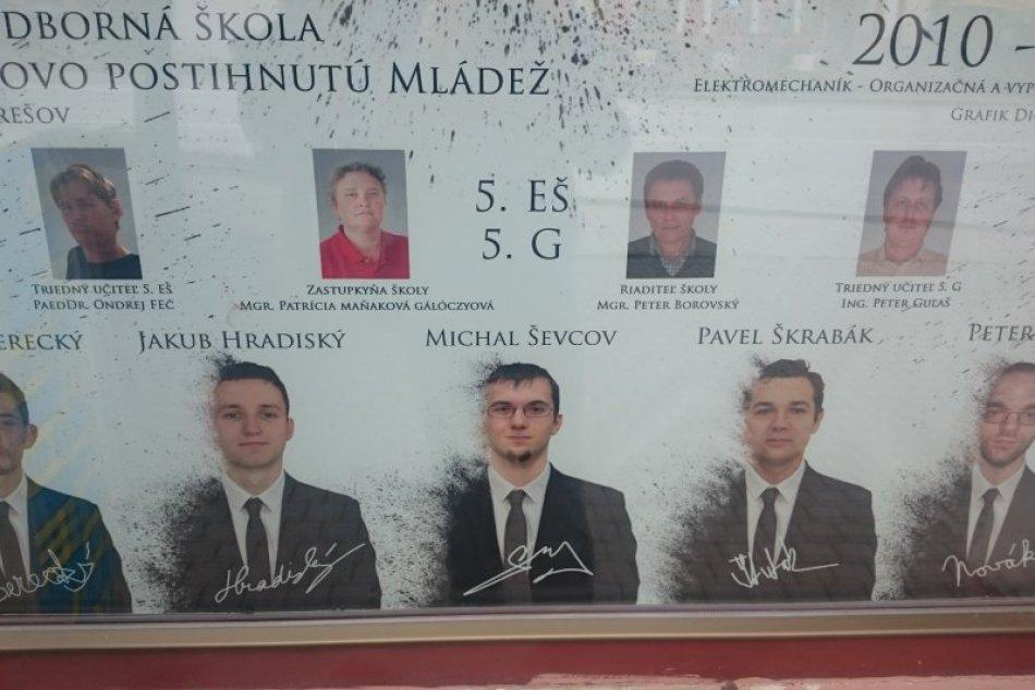 Maturitné tablá á la Prešov: Takéto výtvory sa dajú vidieť v našom meste
