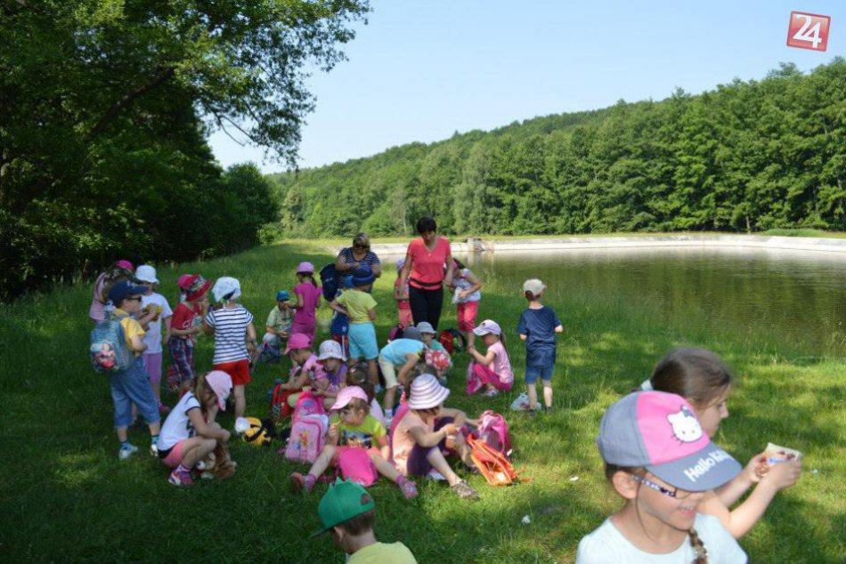 Zážitkové učenie v prírode si deti z materskej školy pochvaľovali