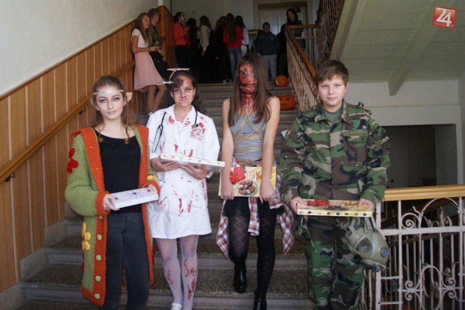 Obrazom: Halloweensky deň na gymnáziu v Rožňave