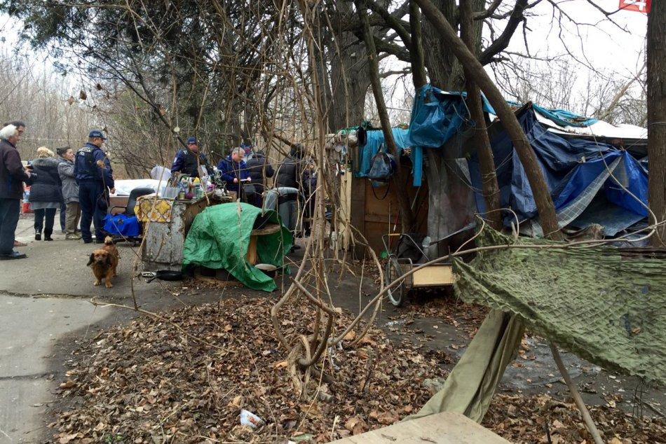 Monitoring ľudí bez domova na území Petržalky