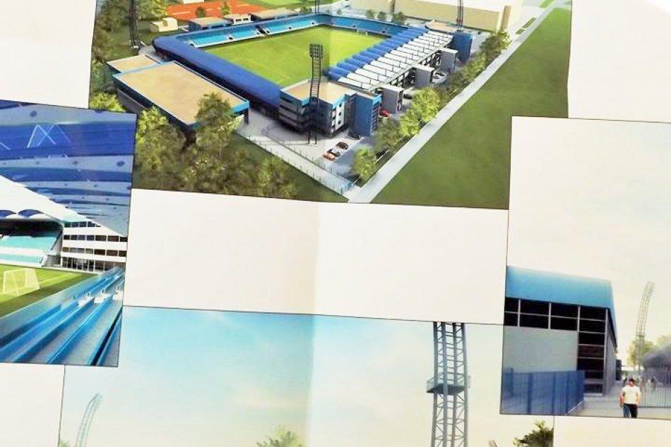 VIZUALIZÁCIE pripravovanej podoby futbalového štadióna
