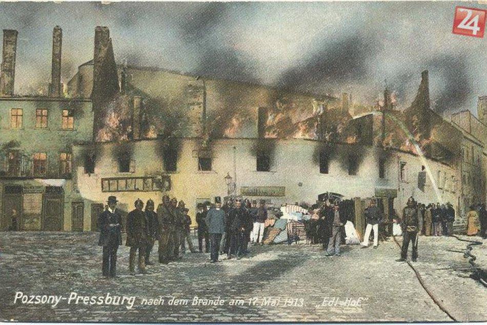 Požiar v Podhradí