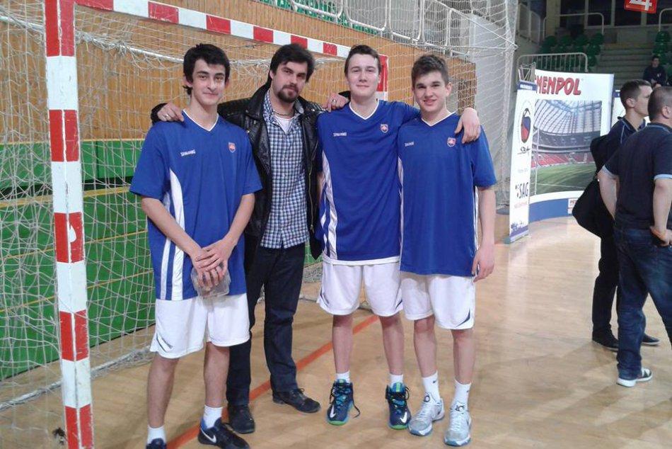 Basketbalisti Považskej Bystrice v reprezentácii