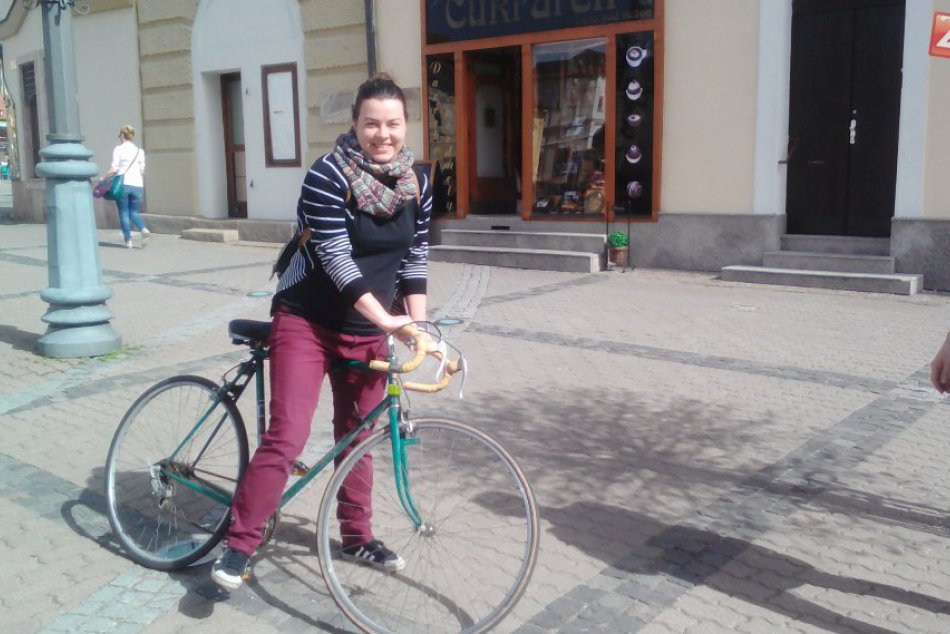 FOTO: Cyklistov láka aj centrum Bystrice
