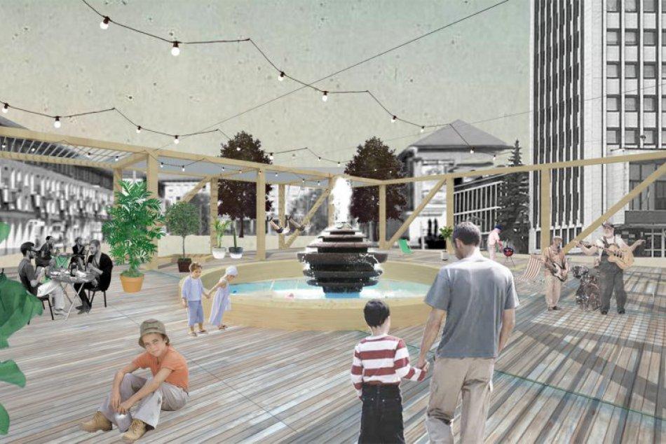 VIZUALIZÁCIE: Takto má vyzerať letný pavilón v centre Žiaru