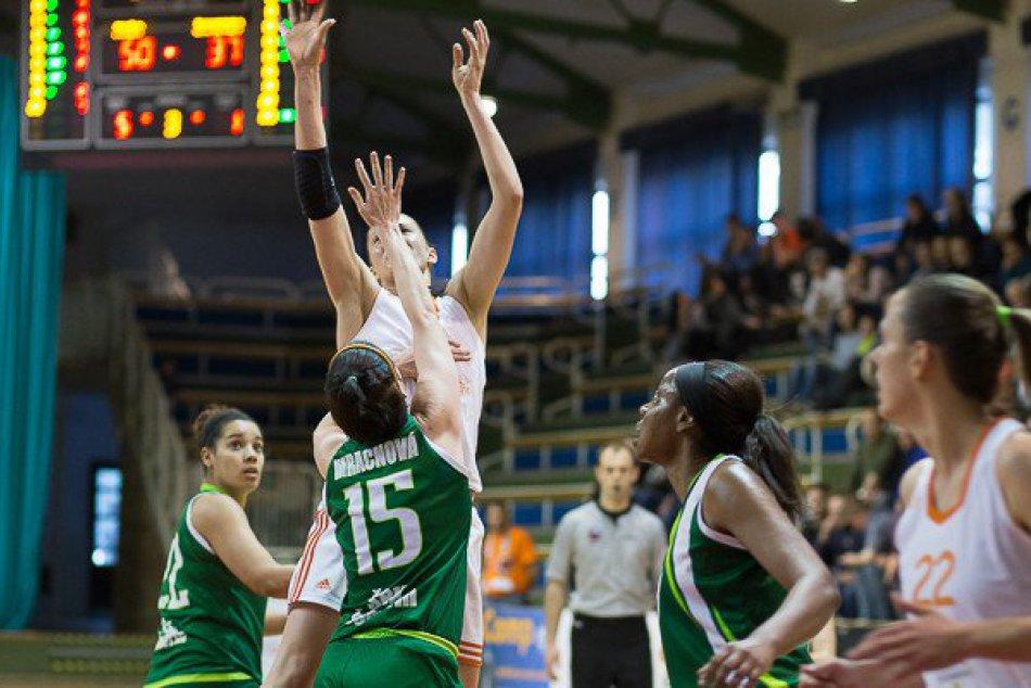 MBK Ružomberok zisk 3. miesta v ženskej basketbalovej extralige.