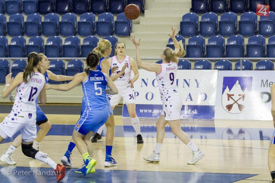 BAM Poprad - BK Slovan Bratislava 65:61