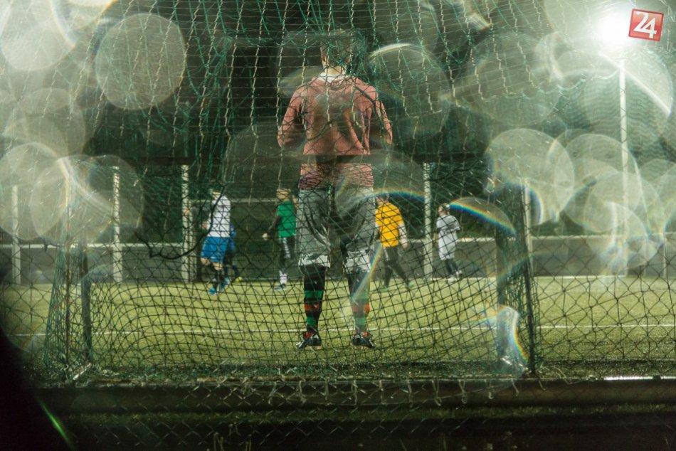 FOTO: Známe mená si to vo futbale rozdali so študentmi