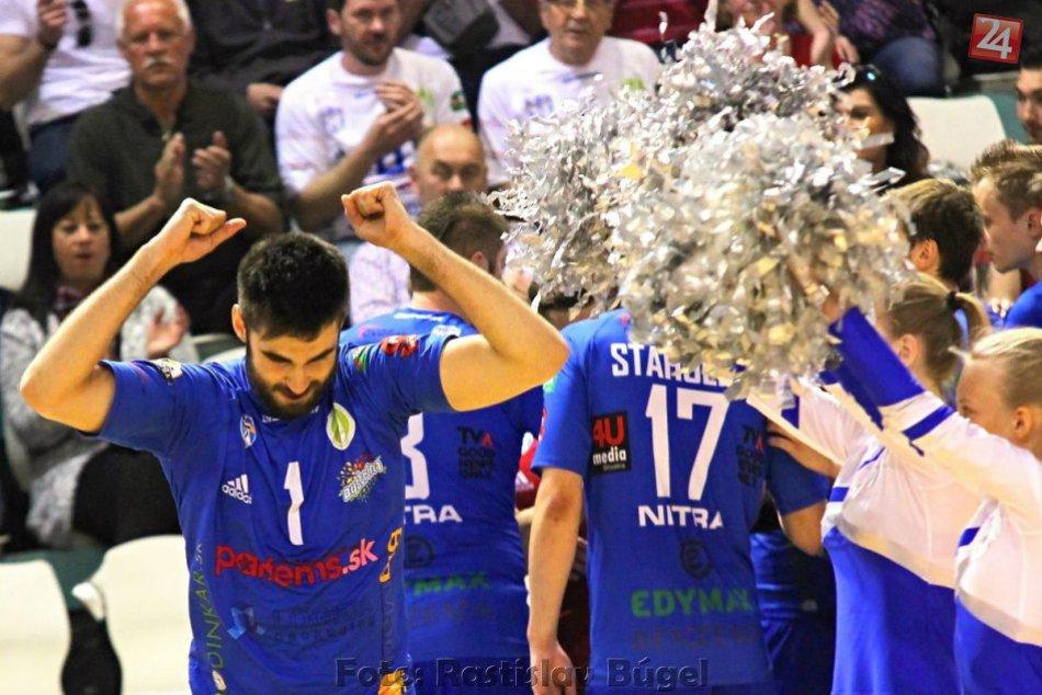 Nitra v domácom prostredí nezaváhala: Volejbalisti vyrovnali finálovú sériu