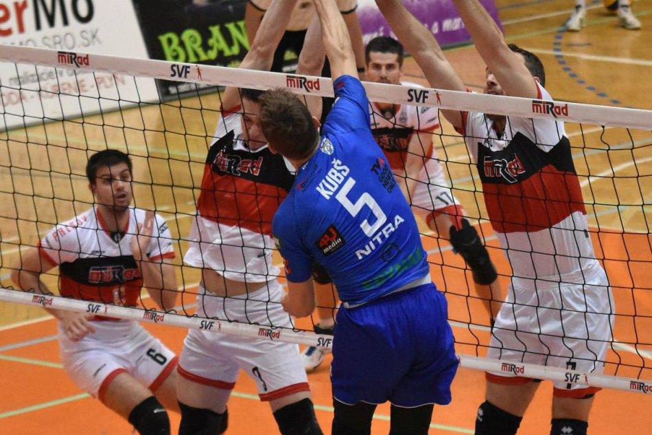 FOTO: Nitra opäť prepisuje históriu, volejbalisti získali premiérový titul!