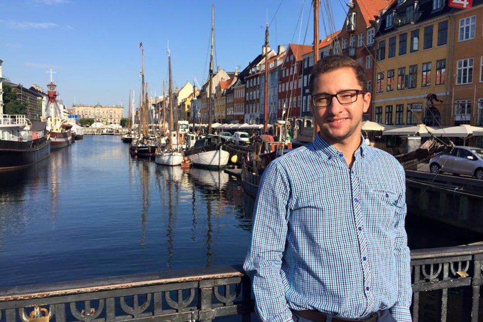 FOTO: Daniel Csúr, študent, ktorý sa dostal do Oxfordu