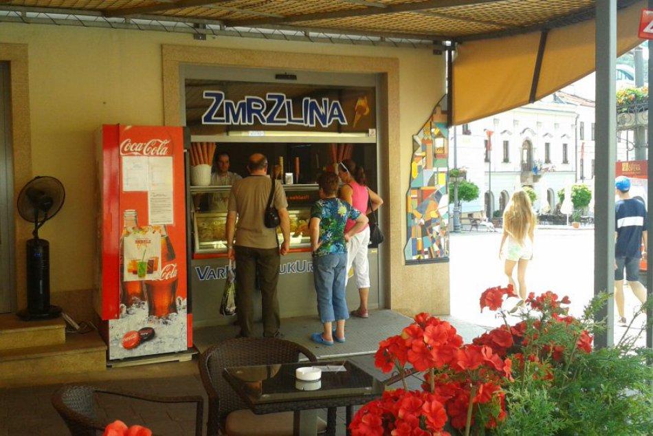 FOTO: Tropické horúčavy v centre Bystrice