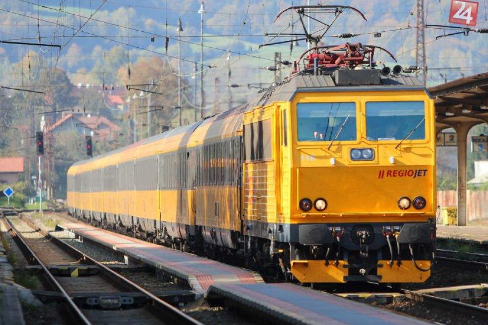 Železnica, vlaky