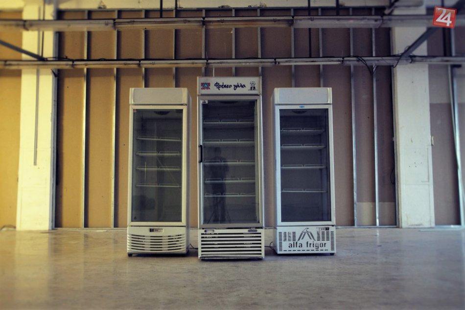 Chladničky plné jedla