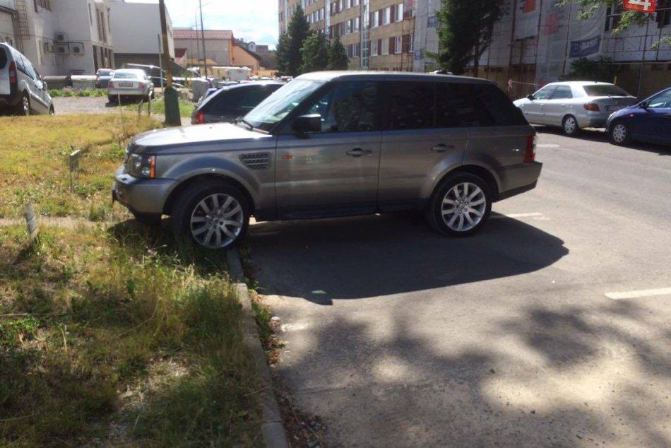FOTO: Zlé parkovanie vás môže vyjsť draho