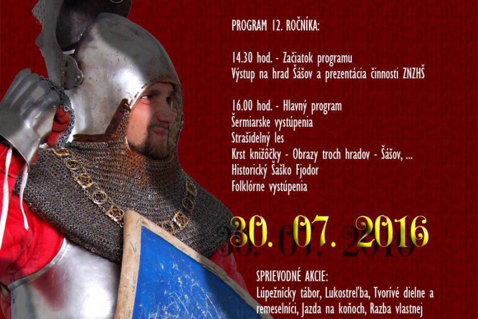Šášovské hradné dni 2016