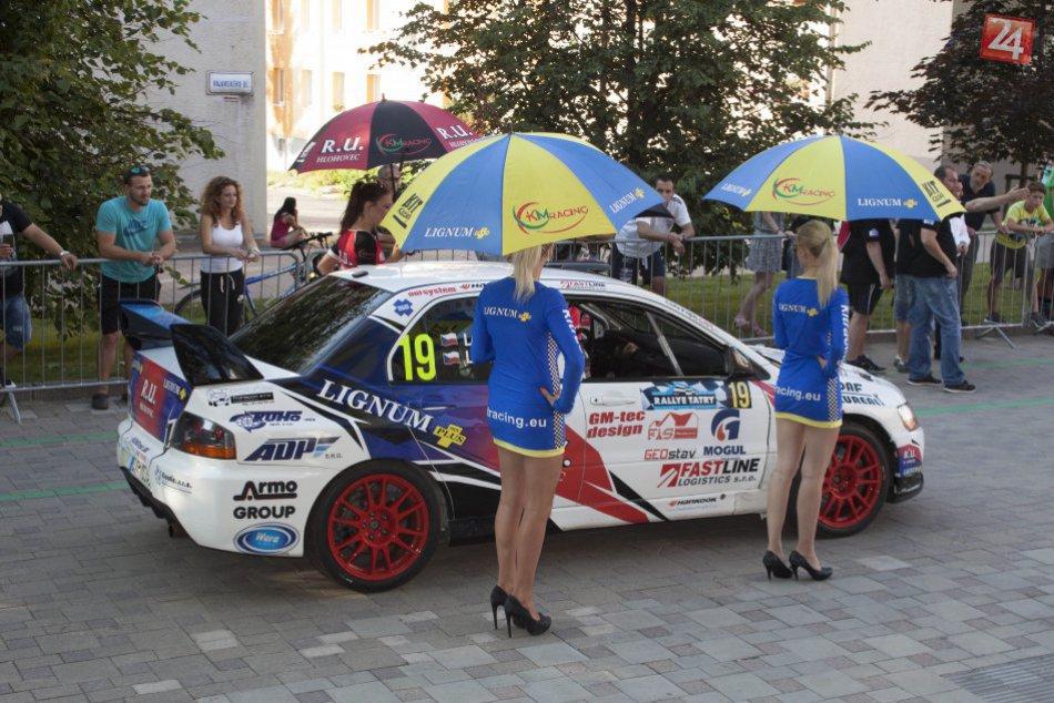 Rallye Tatry 2016 cieľ