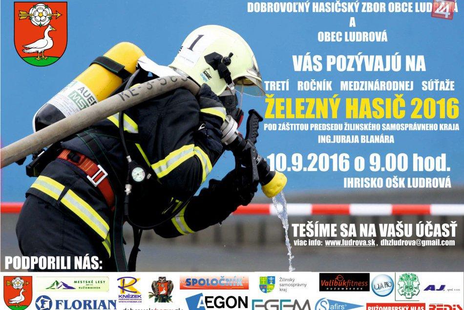 POZVÁNKA: na 3 ročník Železného hasiča