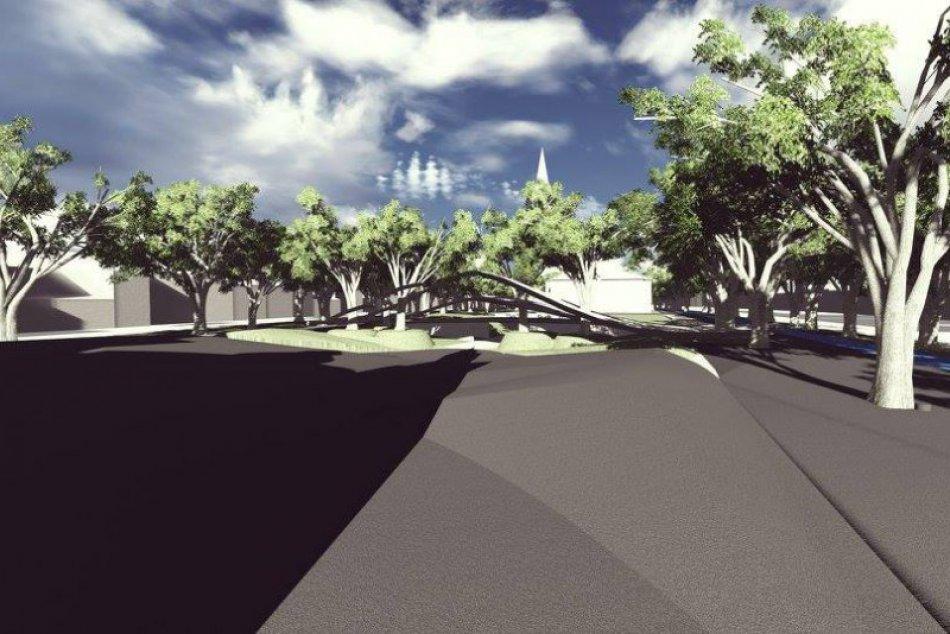 Pozrite si zaujímavý návrh: Ako by po obnove mohlo vyzerať naše námestie