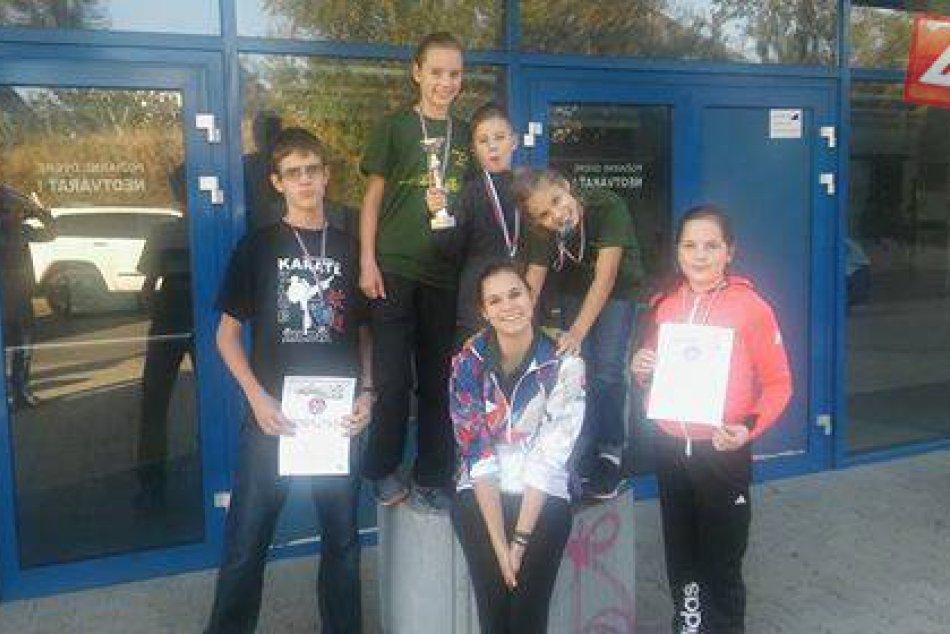 Úspešný pretekári z karate klubu Žilina