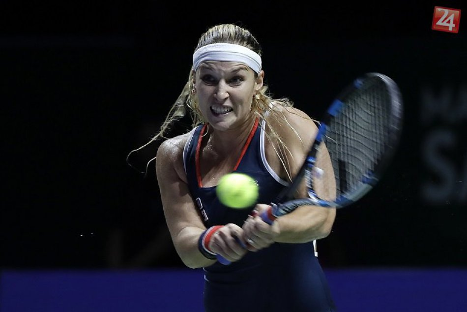 Skvelá Dominika Cibulková! Na svojom premiérovom Turnaji majsteriek je vo finále