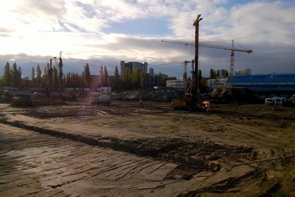 Výstavba Národného futbalového štadióna