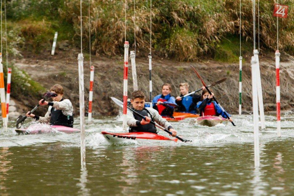 Vodní slalomári z Karlovej Vsi