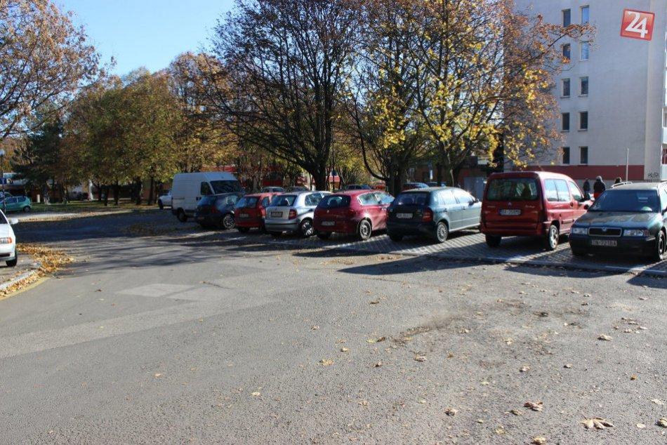 Nové parkovacie plochy v Dúbravke