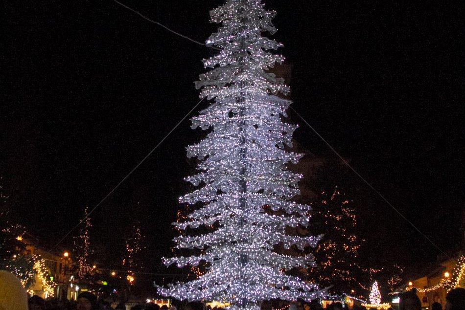 Vianočná výzdoba v Poprade
